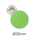 Badge bouton métal 32 mm